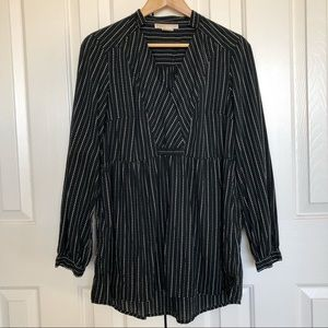 Michael Kors 💯 cotton black/white Tunic Top.